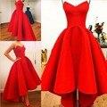 Vestidos милая платье-линии паффи атласа красный привет-ло лето Myriam тарифы ну вечеринку знаменитости платья горячие 2015 шикарное платье