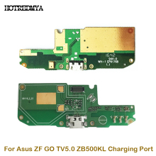 New Charger Connector For Asus Zenfone GO TV 5.0 ZB500KL Micro Dock Port Connector Board USB Charging Port Flex Cable jintai micro usb connector charger charging port dock flex cable for lenovo k5 note