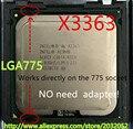 Lntel Xeon X3363 2.83 ГГц/12 М/1333 МГц/CPU равна LGA775 Core 2 Quad Q9500 ПРОЦЕССОР, работает на LGA775 платы нет необходимости адаптер