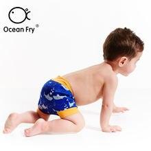 Детские герметичные штаны с героями мультфильмов купальные подгузники