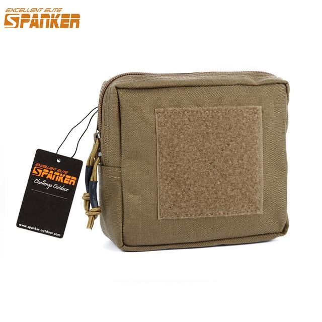 Excelente palancas de ELITE al aire libre Camo paquetes de desechos militares tácticos Molle impermeable bolsa cuadrada de nailon accesorios de caza de Selva