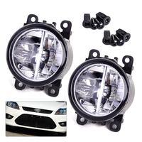 DWCX 2x Right Left LED Fog Light Lamp AC2592111 4F9Z15200AA 33900STKA11 For Ford Focus Honda Acura