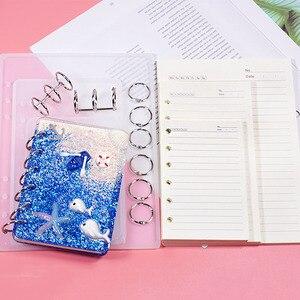 Более дешевая косметическое зеркало в форме ноутбука A7/A6/A5, силиконовая форма, DIY полимерная книга, прессформа из кристалла, эпоксидная сили...