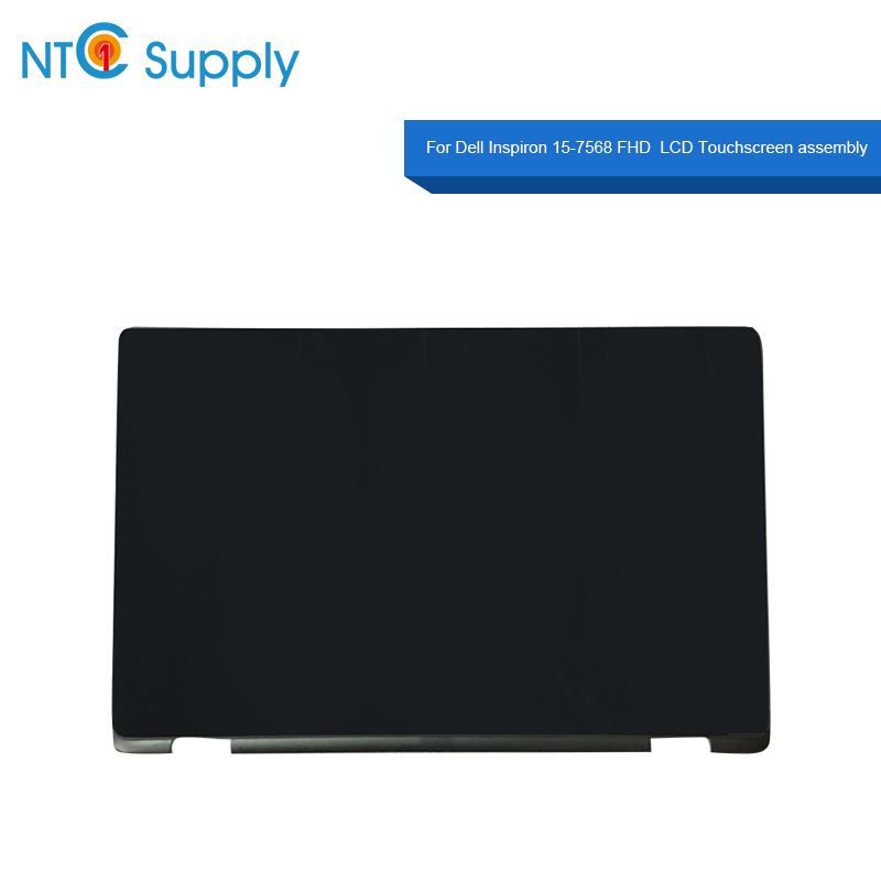 Collection Here Meihou For Dell Inspiron 15-7568 Fhd 15.6 Fhd Led Lcd Touch Screen Original Screen Assembly Dp/n 02dhx6 Nv156fhm-a11 Lcd Screen Jade White Computer & Office