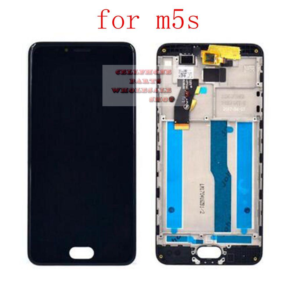 Lcd Affichage Pantalla + Tactile En Verre Digitizer Assemblée pour Meizu M5S M612M M612Q M612H remplacement écran blanc/noir