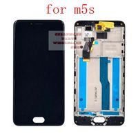 Lcd Display Pantalla Touch Glass Digitizer Assembly For Meizu M5S M612M M612Q M612H Replacement Screen White