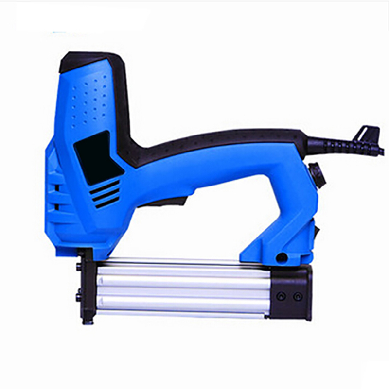 2000W 220V J 112 Woodworking Electric Nail Gun Brad Nailer Stapler Electric Nail Power Tool F32