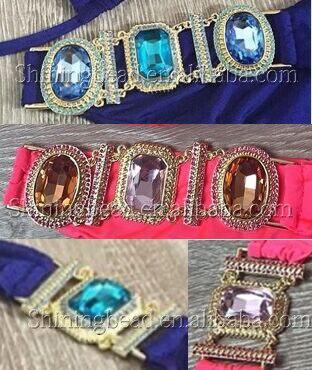 Заказной цветной соединительный элемент для бикини Стразы для купальников, 30 шт в цвет, всего 60 шт
