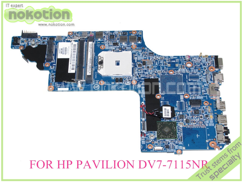 Здесь можно купить   682220-001 For HP Pavilion DV7-7000 DV7-7115NR  system board Motherboard 17.3