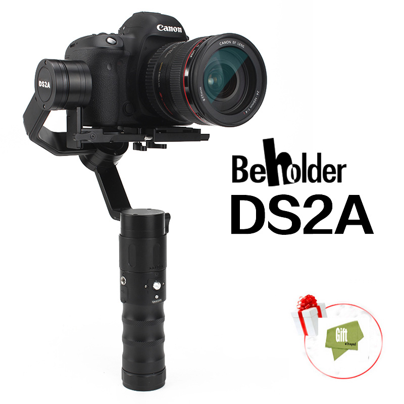 Beholder DS2A/DS2R Handheld Stabilizer  three-axis gyro  Gimbal for DSLR Camera support weight 1.8kg yuneec q500 typhoon quadcopter handheld cgo steadygrip gimbal black