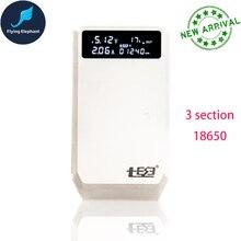 Micro Type C QiDian 183 باور بانك شحن سريع 3 قسم امدادات الطاقة 18650 QC3.0 متعدد الجهد الناتج صندوق بطارية QD 183 PD
