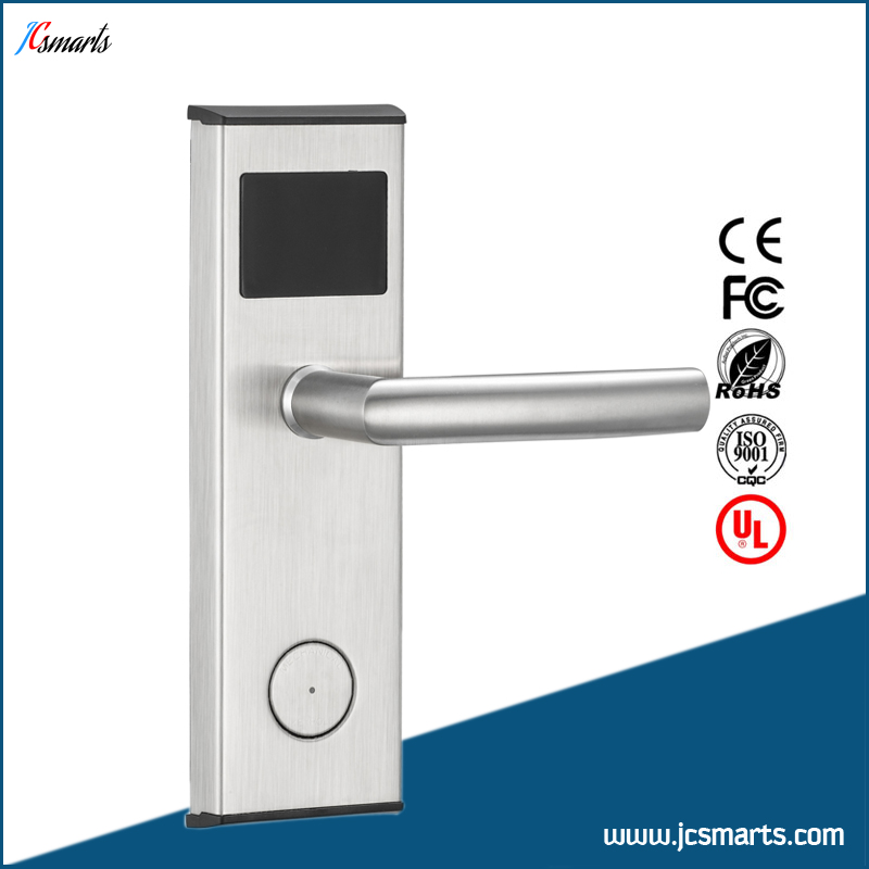 Free Software Rfid Hotel door Lock IC Card Hotel Lock System hotel lock system rfid t5577 hotel lock gold silver zinc alloy forging material sn ca 8037