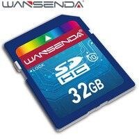 Новый оригинальный бренд WANSENDA полный размер SD карта памяти 4 ГБ 8 ГБ 16 ГБ 32 ГБ 64 Гб класс 6 класс 10 Флэш-карта бесплатная доставка