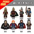 Lord of the rings The hobbit Gandalf Isildur Sauron Legolas Greenleaf los khan sold figures Blocks Models & Building Toy