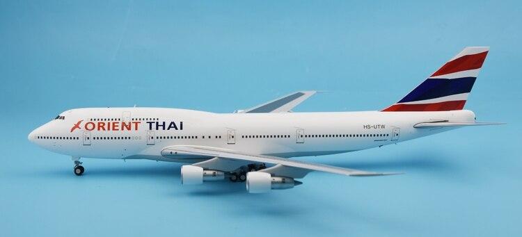 Special offer JC Wing 1:200 LH2041 Thailand Orient Airlines B747-300 HS-UTW Alloy aircraft model Collection model Holiday gift пылесос dyson dc62 origin сухая уборка серебристый