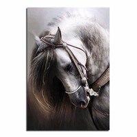 5D Diy Diamond Painting Horse Full Drill Resin Diamond Embroidery Diamond Mosaic Animal Dmc Needlework Patterns