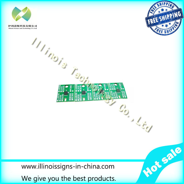 One-time Chip for Mimaki AC300 Cartridge 4 Colors CMYK printer parts