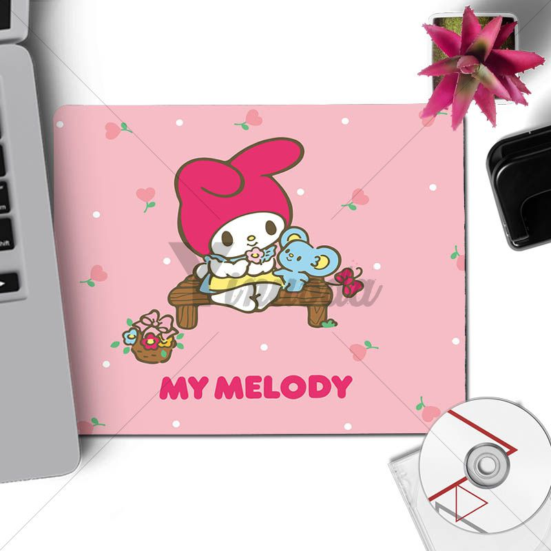 Details About Vintage Cute My Melody Little Twin Stars Laptop Computer Mousepad Pink Pastel
