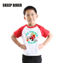 Kids Cartoon T Shirts Fashion Tops Cotton Fireboy Clothing Super Soft Boys Girls Unisex