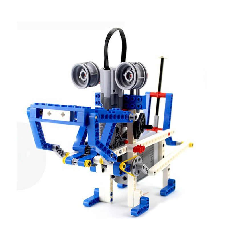 LIS-Technic Compatibel met 9686 DIY Bouwstenen Onderdelen. Motor Accubak Hulp Set Voor Technologie MOC 9686