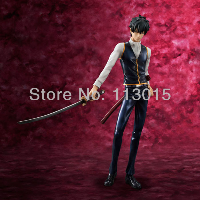 ФОТО Gintama Doll Figure Hijikata Toushirou 22cm in Height PVC Figurine