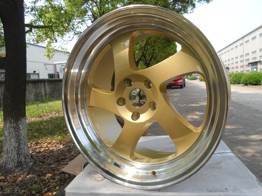 Free Shipping 19 GOLD TMB STYLE RIMS WHEELS FITS 350Z 370Z G35 G37 SEDAN COUPE AWD