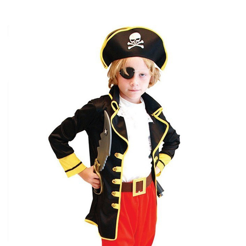 barn pojkar pirat kostymer / cosplay kostymer för pojkar / halloween - Maskeradkläder och utklädnad - Foto 6