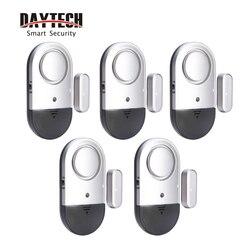 DAYTECH Wireless Door Sensor Window Alarm Alert Door Open Detector Magnetic Security Alarm Sensor Detecor