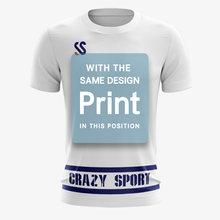 Мужские/женские теннисные рубашки Мужская футболка для игры