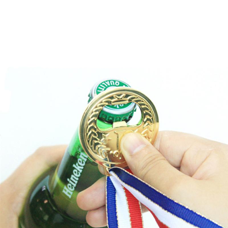 Gold Medal Zinc Alloy Wine Opener Openers Beer Opener Restaurant Party Champagne Whiskey Novel Convenient Economic