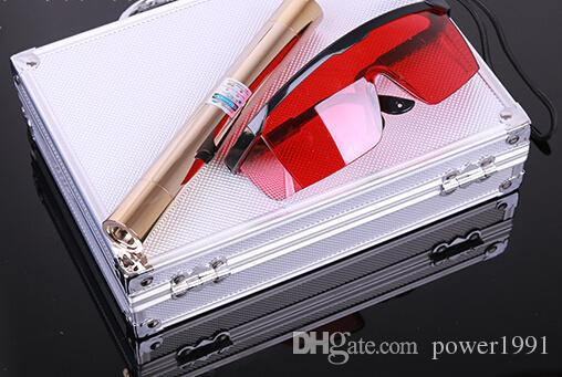 2015 Brand New 100000mw 450nm blue laser torch laser pointer cigarette ignition to play down the bird self-defense long shots radium shoots