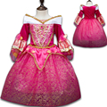 Snow Queen Elsa Princess Dresses for Girls Sleeping Beauty Rapunzel Dress Children Girls Cinderella Sofia Aurora Dress Clothing