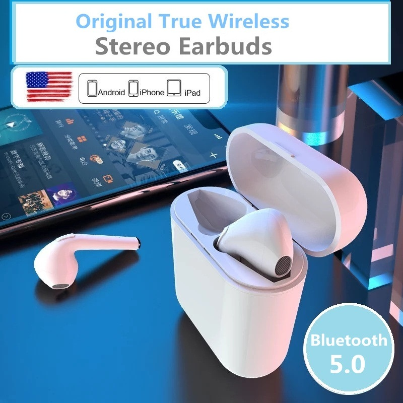 Latest Mini Bluetooth wireless Headphones Earbuds Earphone wireless Air Pods Headsets For Andorid apple iPhone air pods