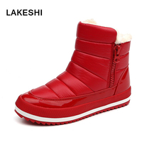 Snow Boots 2017 Winter Warm Women Boots Cotton Winter Spring Boots