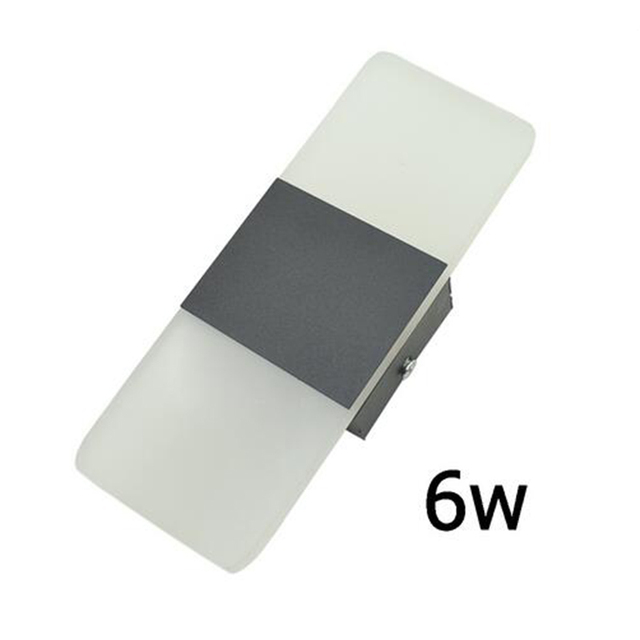 GLW 6 Watt Led Wandleuchten Für Schlafzimmer Nacht Wohnzimmer Flur  Treppenhaus Balkon Gang Lampe Moderne Kurze
