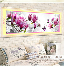 5d diy diamond painting magnolia orchids round rhinestone peony flower diamond cross stitch wedding series diamond embroidery