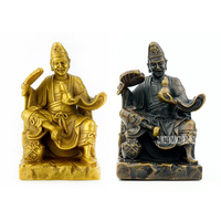 Ji Gong Monk Buddha Hold Gourd Copper Statues Ornament Temple House Lucky Safety Remove Disease Office Feng Shui Home Decoration