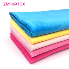 ZYFMPTEX Harmless&reach Test Passed Soft Plush Fabric For Making Plush Toys Home Textile Plush Fabric Free Shipping Home Textile