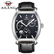 AILANG – montre de plongée en cuir pour hommes, accessoire de luxe, automatique, noir, marque reloj, sport diesel, suisse