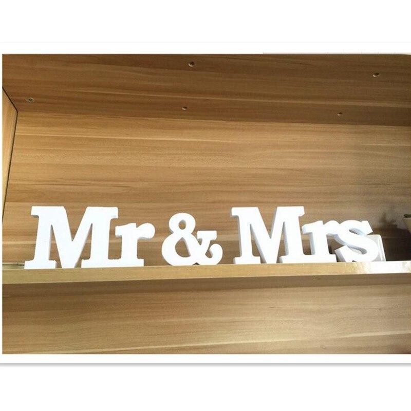 Toy bəzəyi cənab və xanımlar romantik mariage dekorasiya tərəf - Şənlik aksesuarları - Fotoqrafiya 4