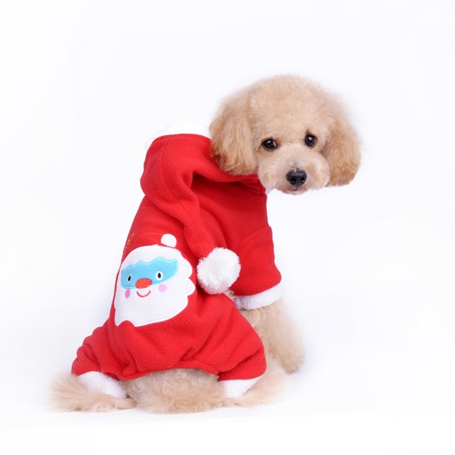 Christmas Pet Costumes.Us 12 0 Free Shipping Pet Costumes Christmas Dog Pet Costumes Cute Dog Clothes Winter With Legs Christmas Dog Jumper Male Pet Christmas In Dog