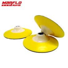 Подложка marflo для мытья автомобиля с губкой полировки 6 дюймов