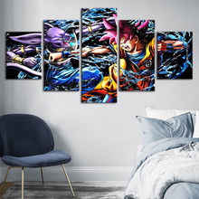 Canvas Wall Art HD Prints Dragon Ball Poster Animation Character Home Decoration Painting For Bedroom Modular Pictures Framework(China)