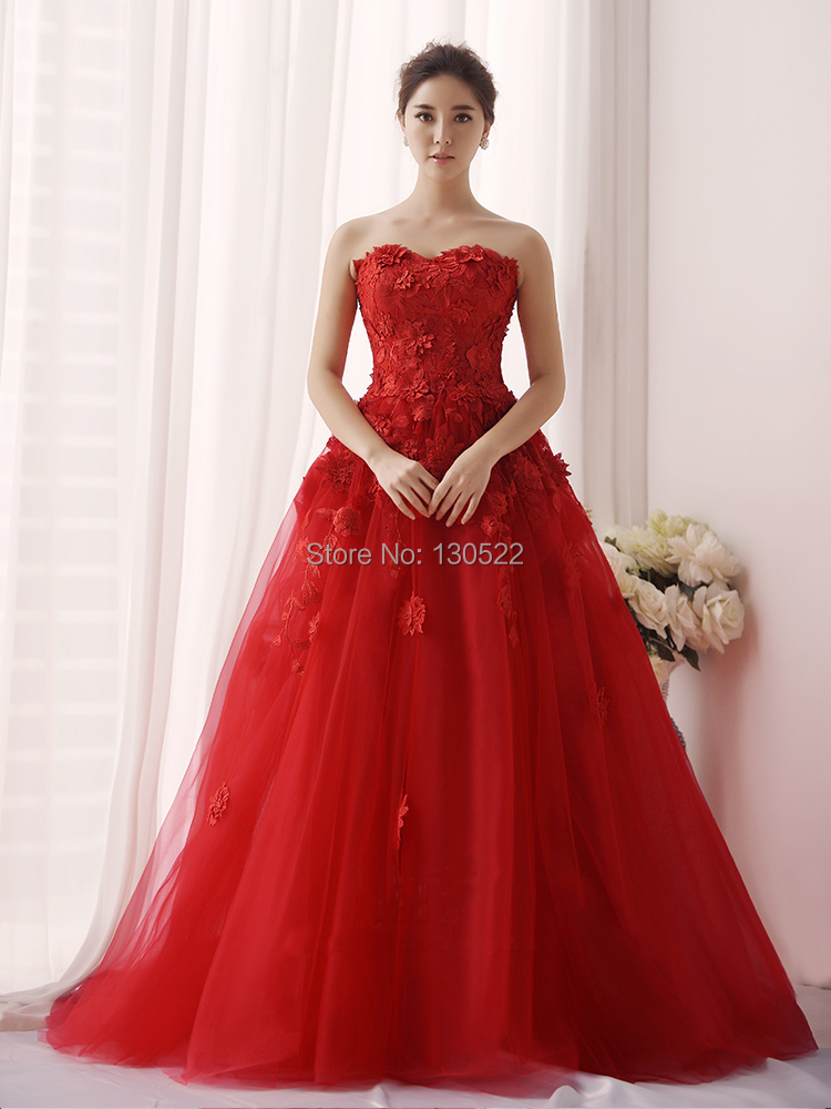 Beautiful Red Gowns