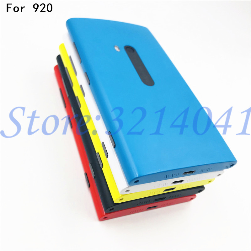 Good quality 4.5 inches Battery Back Cover For Nokia lumia 920 Battery Cover With Logo Replacement Parts image