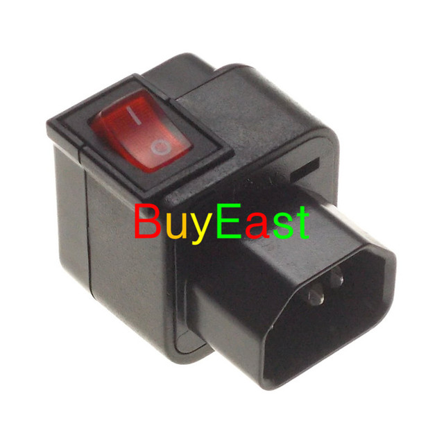 lot 10 wonpro pdu iec320 c13 to c14 plug universal to iec320 c14lot 10 wonpro pdu iec320 c13 to c14 plug universal to iec320 c14 male power plug