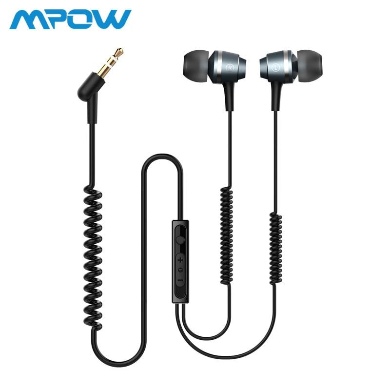 Original Mpow PA026 In ear Headphones Headset 3.5mm jack