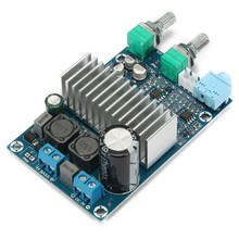 Big discount 1PC TPA3116 Digital Amplifier Board Support 100W Bass Subwoofer Amp Board DC 12-24V Integrated Circuits