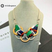 The new cloth art circle knitting joker woman fashion necklace jewelry fashion and personality art and fashion