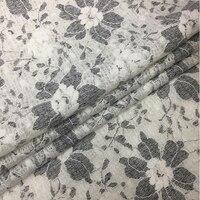 Italian Import Bonded Fleece Knitted Lace Fabric Fashion Wool Fabric Cashmere Telas Cheap Tissu Au Metre